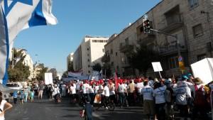 Marcha de todas las naciones en Sukkot